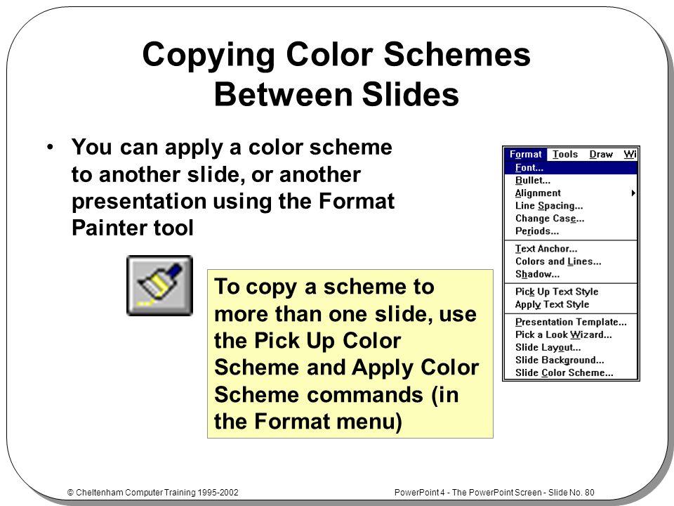 Powerpoint 4 foundationintermediate ppt download 80 copying toneelgroepblik Choice Image