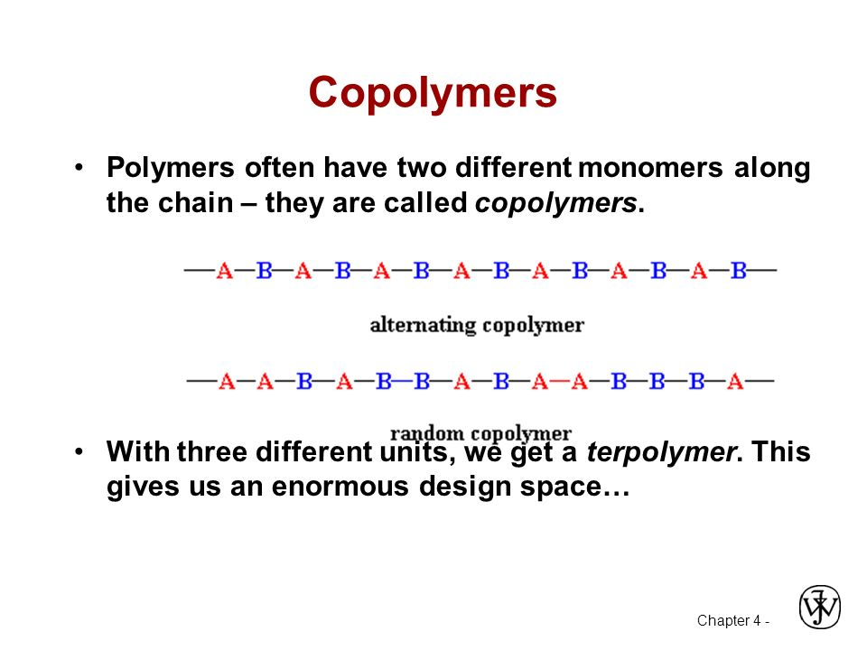 polymers have different structures they also Additionally, have students each locate a material made from a polymer and be prepared to explain its chemical structure to the class additional multimedia support note: the animation in the attached powerpoint presentation (v1155 or higher) requires quicktime (v 77 or higher).