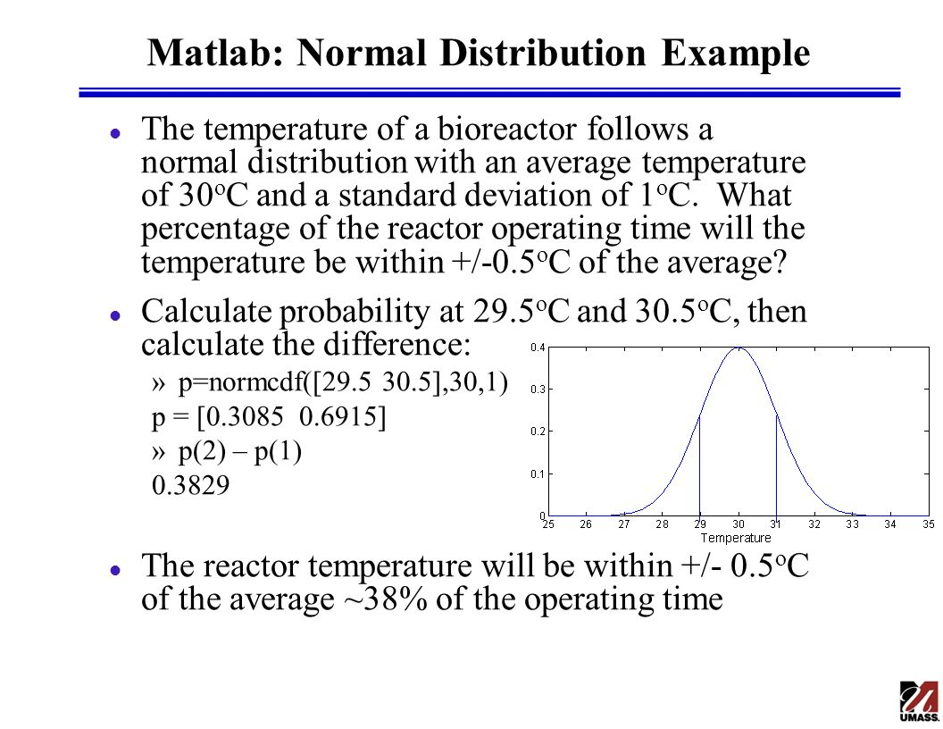 how to find average and standard deviation in matlab