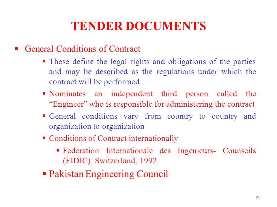 Construction contract management capital development authorithy 20 tender documents pakistan engineering council stopboris Gallery
