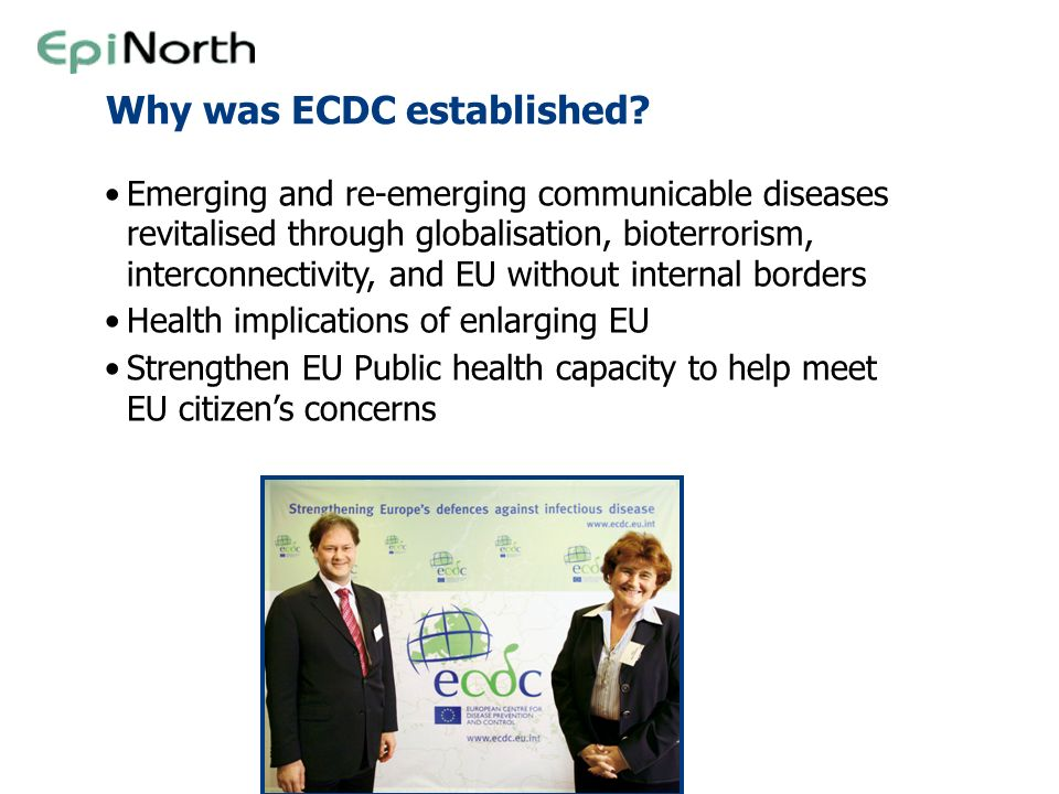 Why was ECDC established