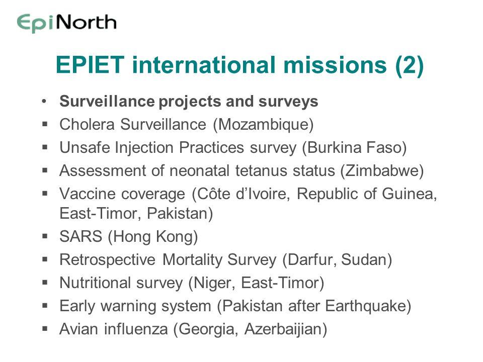 EPIET international missions (2)