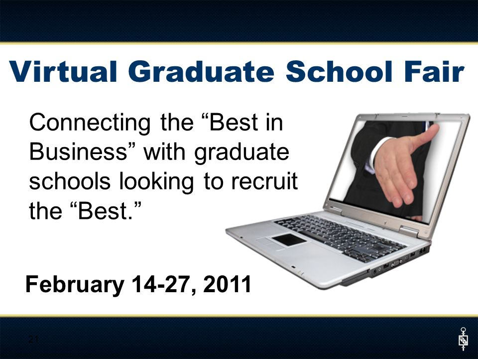 Virtual Graduate School Fair