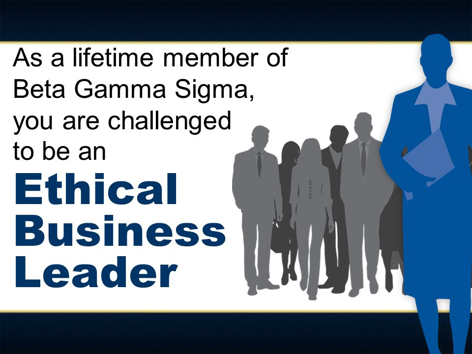 Ethical Business Leader