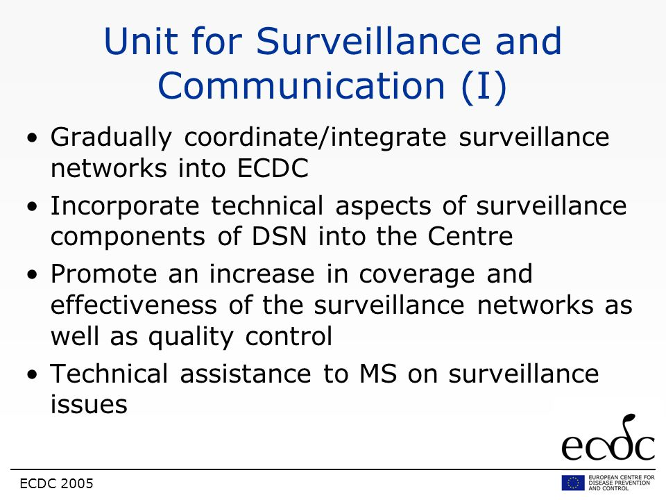 Unit for Surveillance and Communication (I)