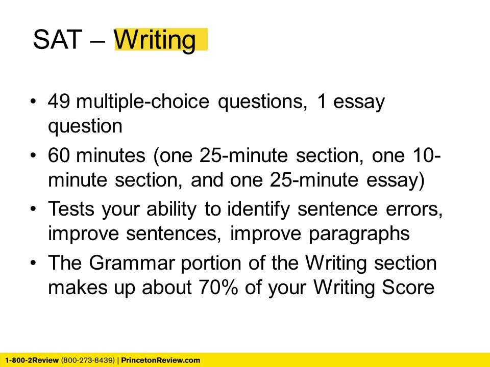 New SAT Essay: Prompts and Samples