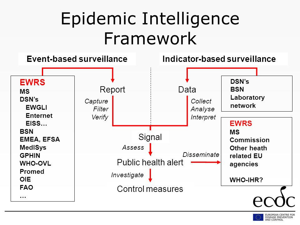 Epidemic Intelligence Framework