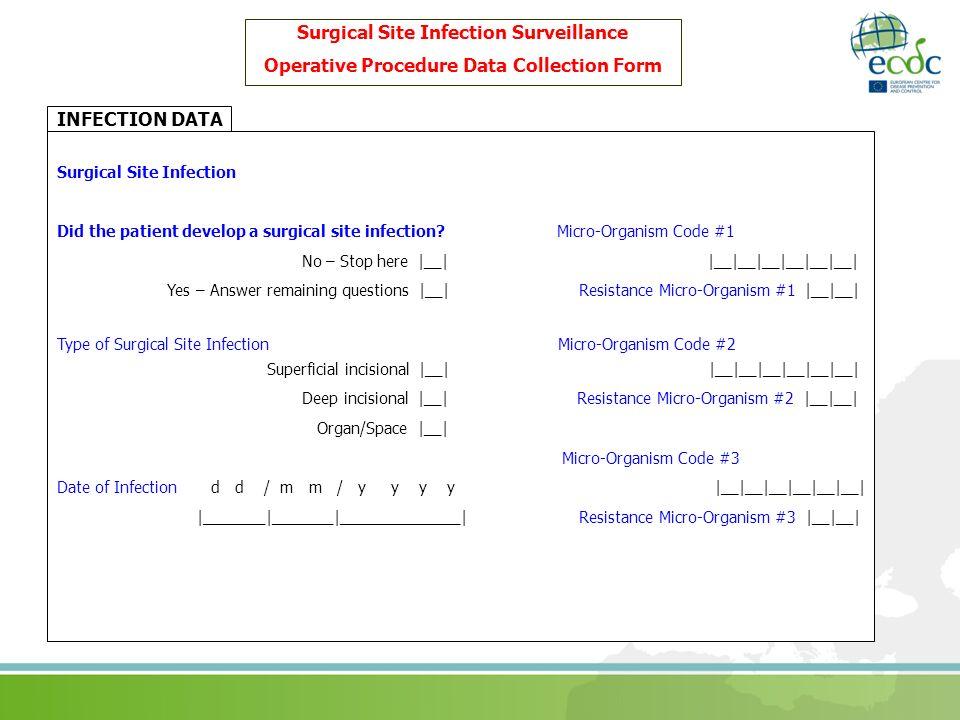 Surgical Site Infection Surveillance