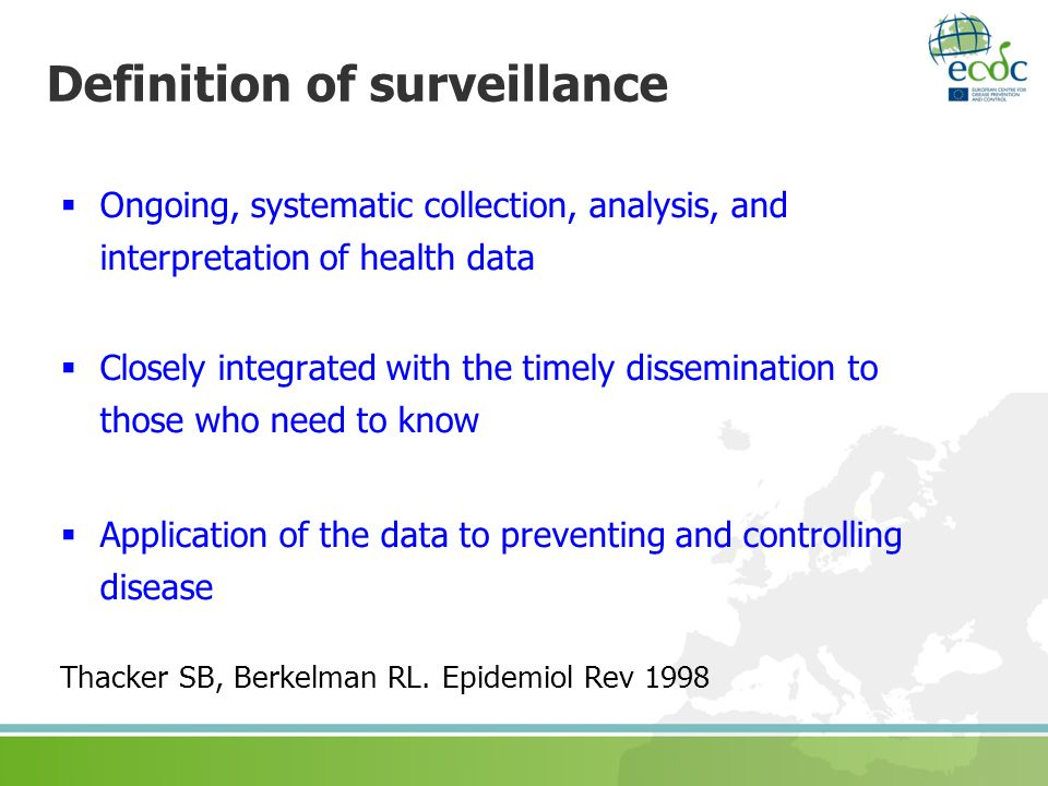 The European protocol for surveillance of surgical site ...