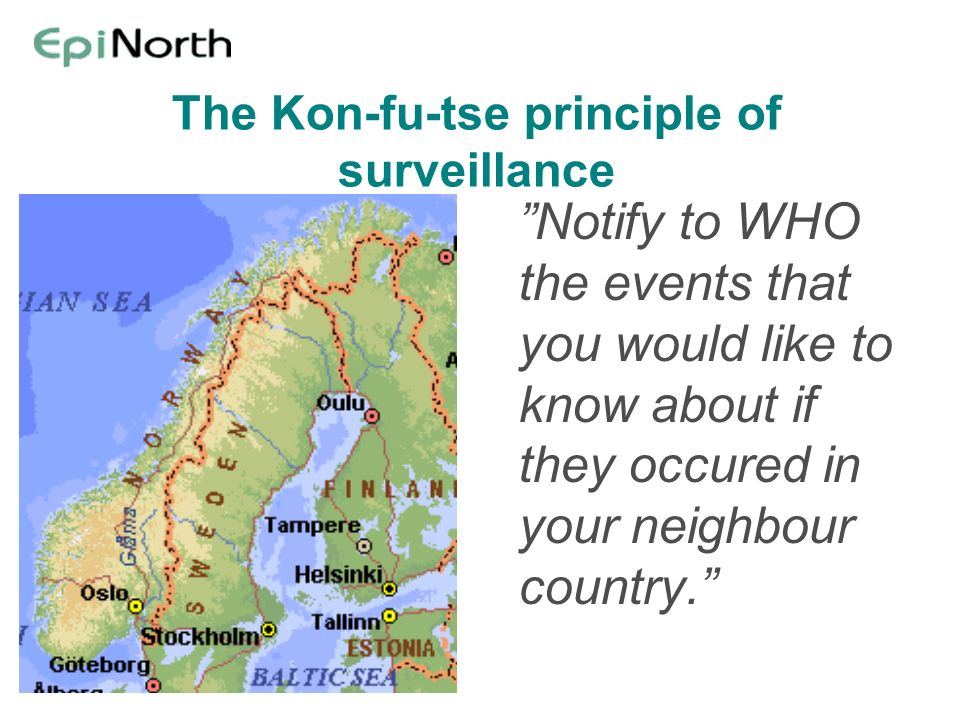 The Kon-fu-tse principle of surveillance