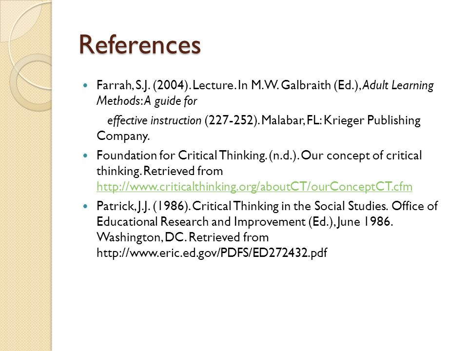 critical thinking techniques ppt Critical reading techniques you will probably find that there is a lot of reading required for your module like many students, you might find that you are time-poor.
