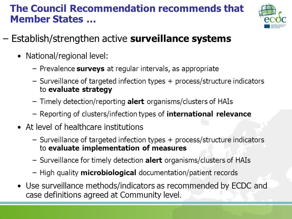 The Council Recommendation recommends that Member States …