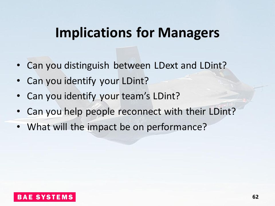 Implications for team performance