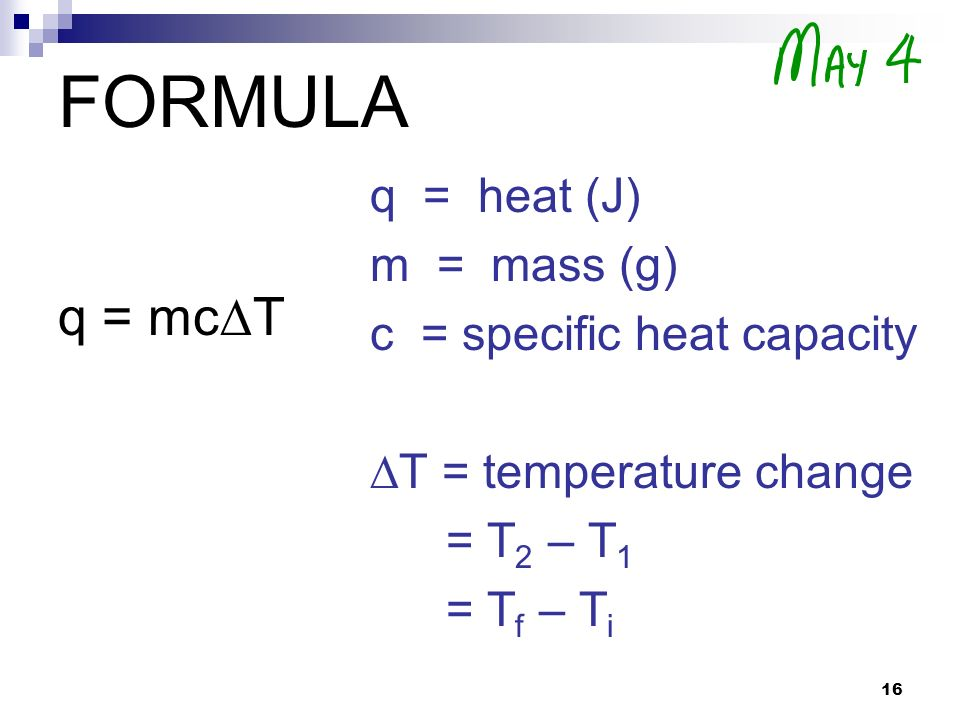 how to solve specific heat capacity problems