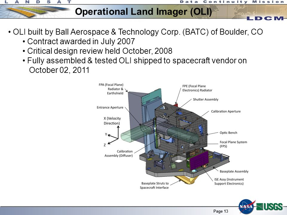 Operational Land Imager (OLI)