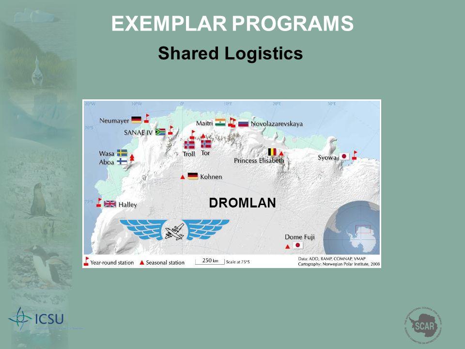 EXEMPLAR PROGRAMS Shared Logistics DROMLAN