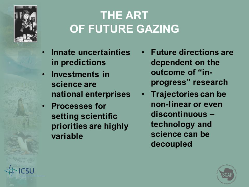 THE ART OF FUTURE GAZING