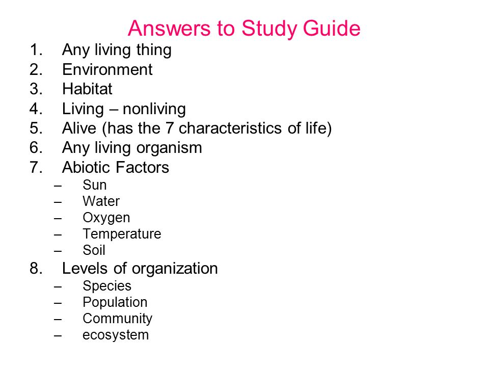 Characteristics Of Living Things Worksheet Answers 9368523