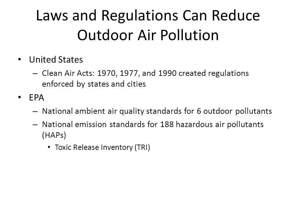 an analysis of the 1990 federal clean air act in the united states of america Who pays for climate change  in 2012, the federal governme ntspe $96 billion to clean  clean air act to make big reductions in carbon pollution.