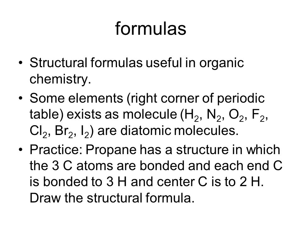 Atoms molecules and ions ppt download 19 formulas structural urtaz Images