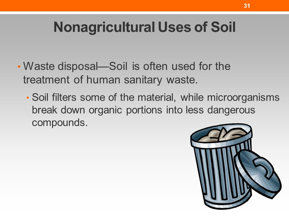 The nature of soil lesson nres b ppt video online download for Uses of soil in english