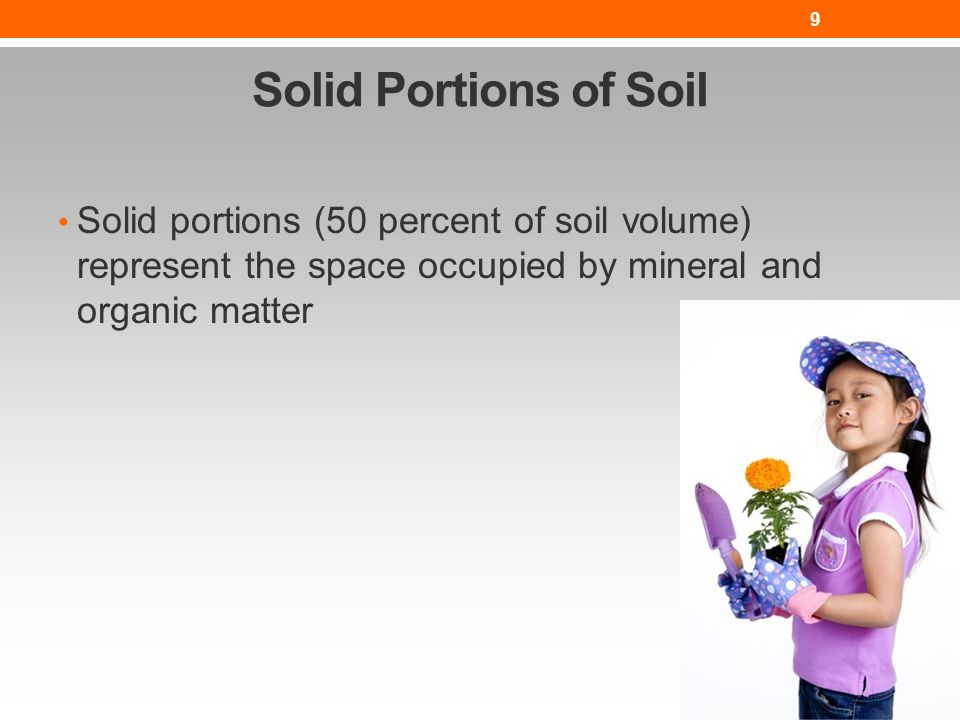 how to change soil organic matter percent