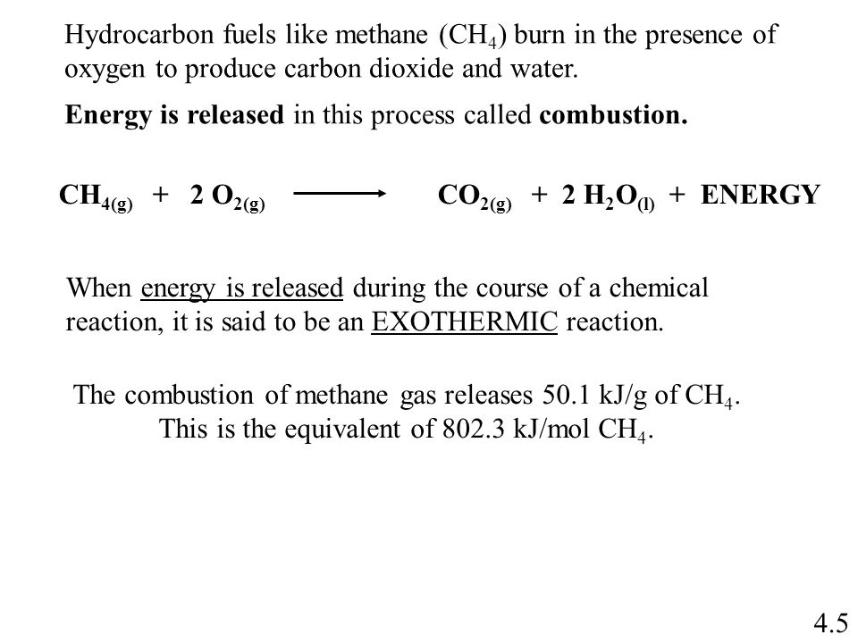 Chapter 4: Energy from Combustion - ppt video online download