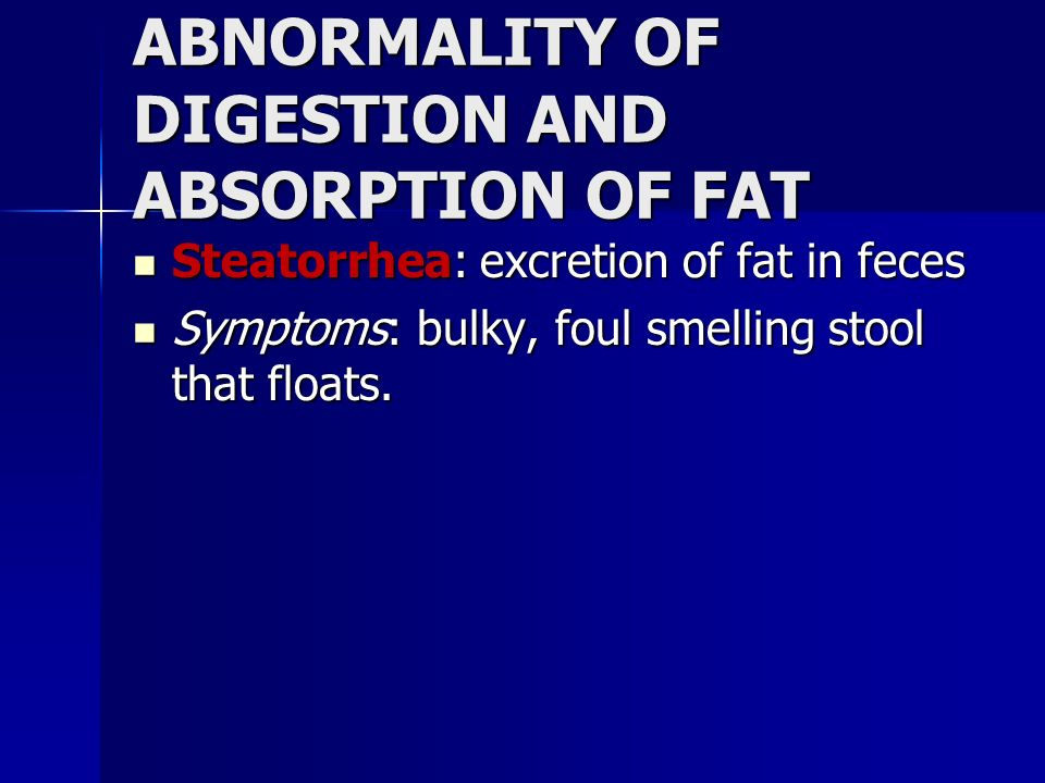 digestion and absorption of fats Spf mice that received a high-fat diet did gain weight this diet quickly boosted the abundance of certain microbes in the small intestine, including.
