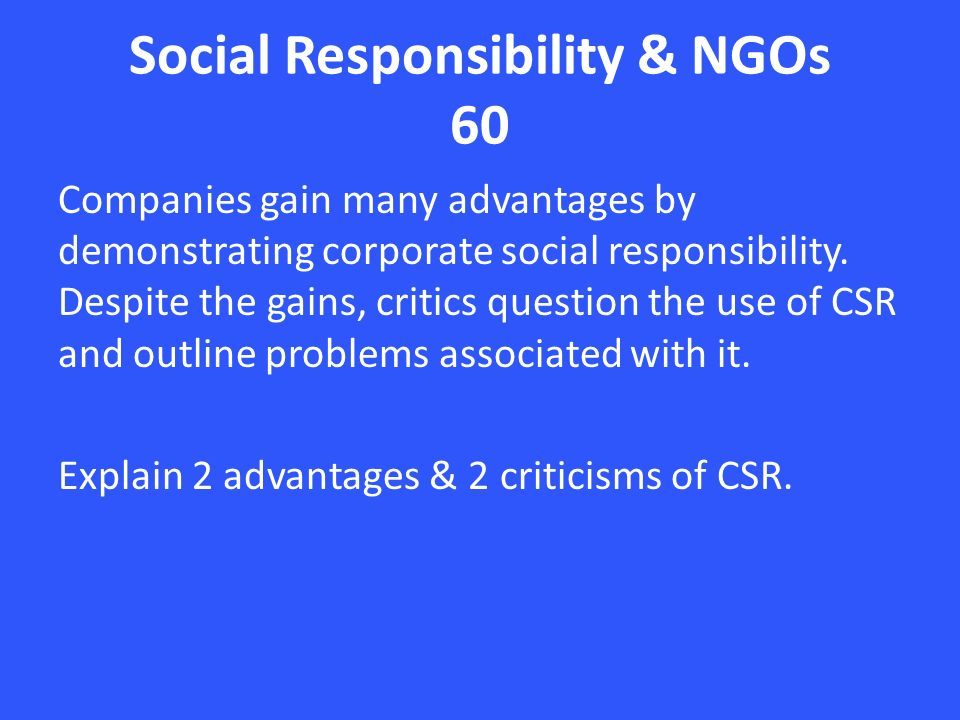 corporate social responsibility in international companies As markets continue to globalise, companies will increasingly need to practice  corporate social responsibility at the global level almost all international.
