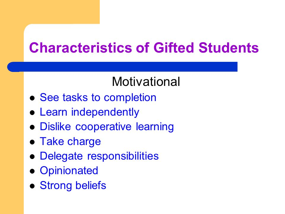 early identification of gifted children essay Gifted students are defined as those who excel in academic  however, the first  step for developing curriculum for schools is the identification.
