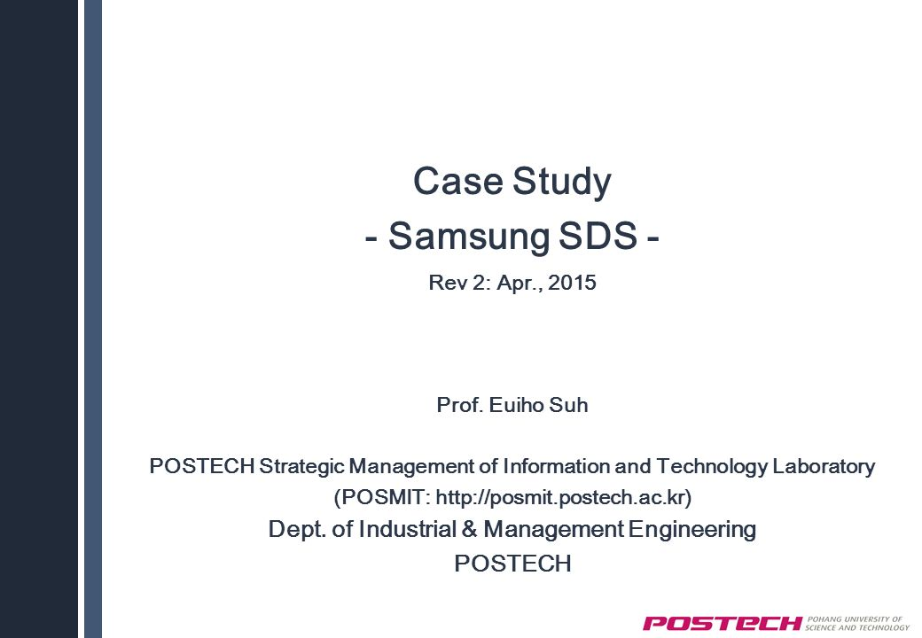samsung case study strategic management