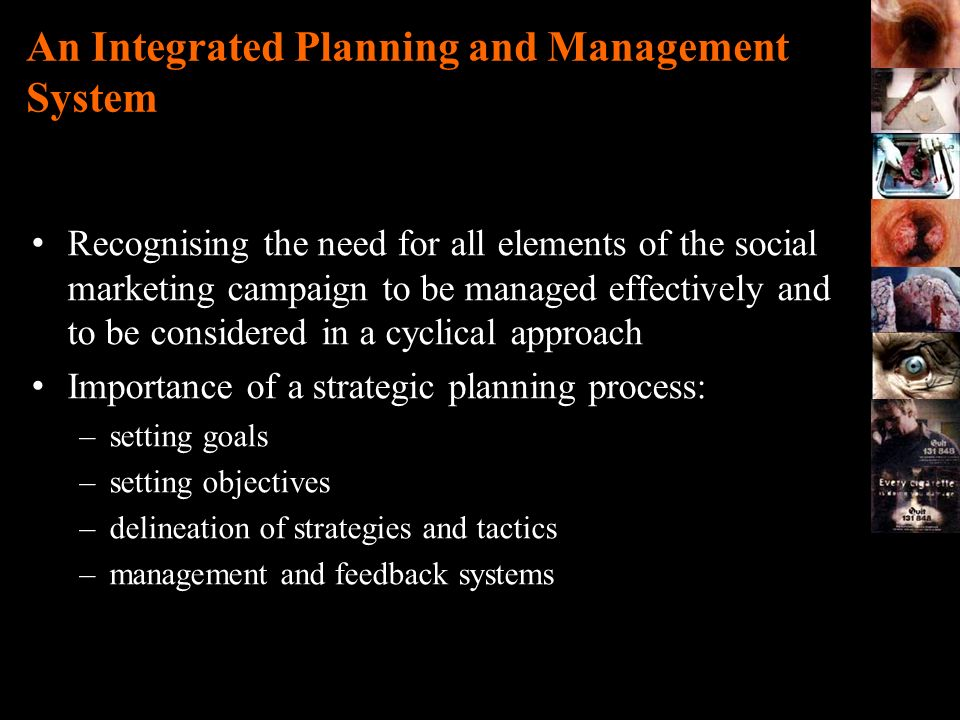 An Integrated Planning and Management System