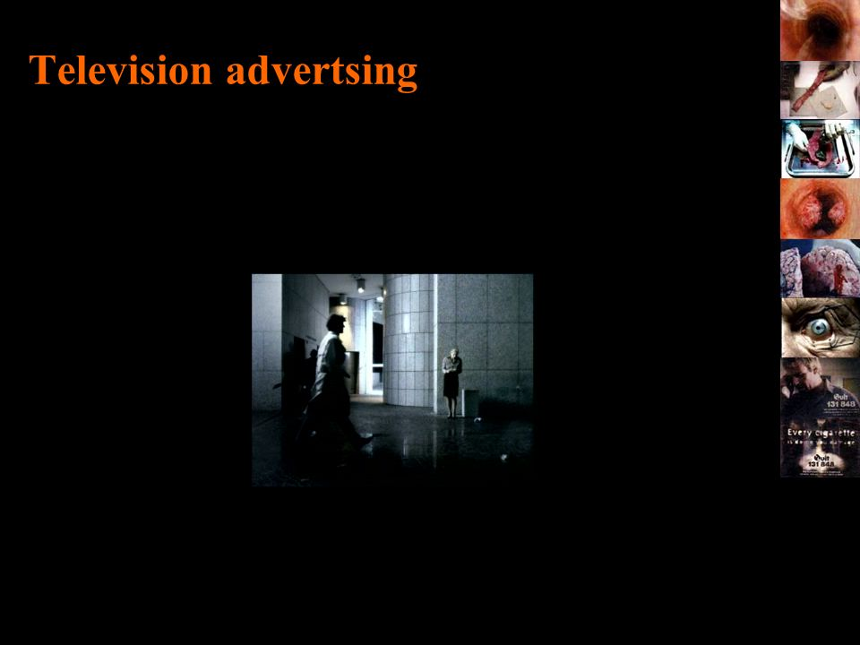 Television advertsing