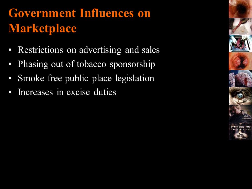 Government Influences on Marketplace
