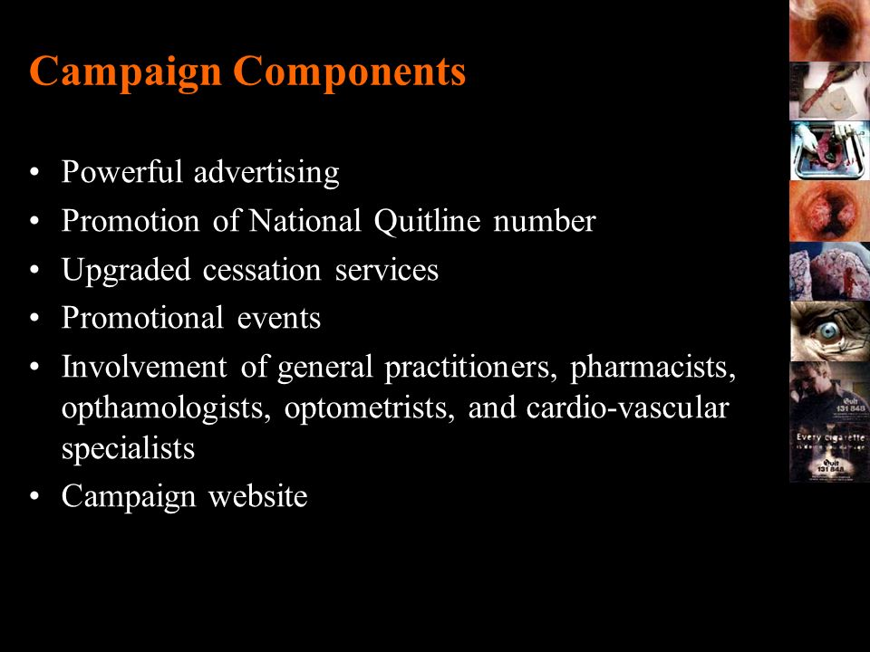 Campaign Components Powerful advertising