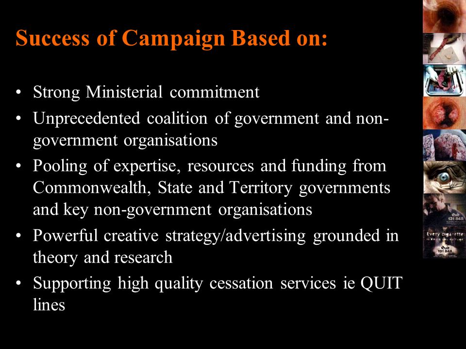 Success of Campaign Based on: