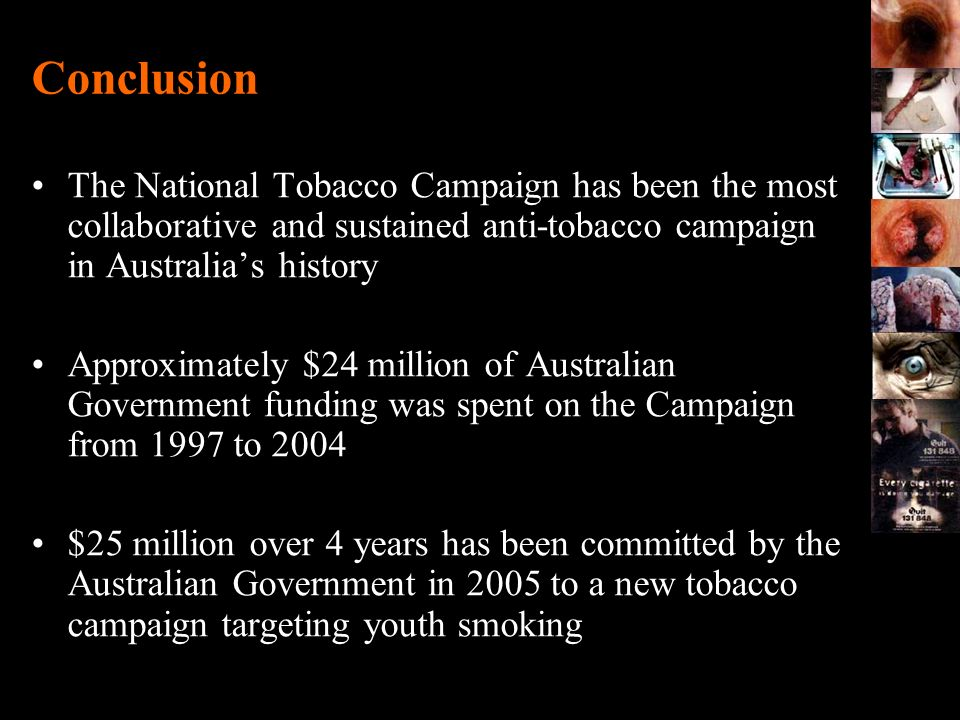 Anti Smoking Campaign History