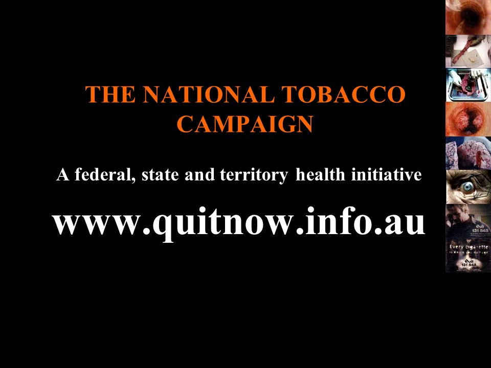 THE NATIONAL TOBACCO CAMPAIGN