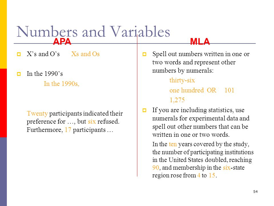 using numbers in an essay mla Mla format mla, apa, chicago and mla format google docs by stephen on january 14 i know that for every essay i ever write, i am going to use this.