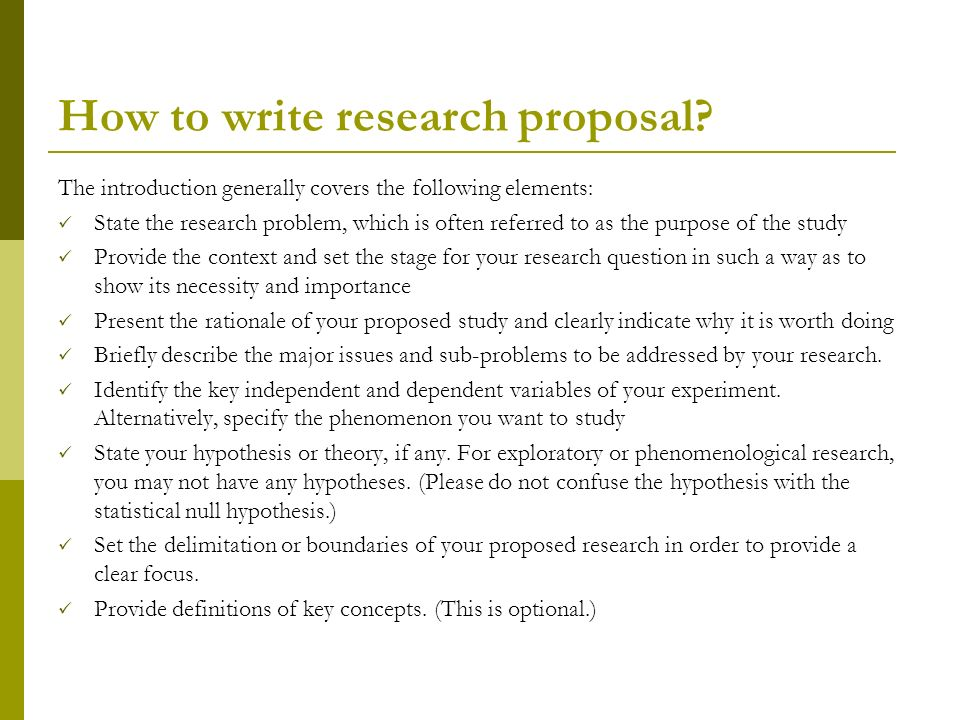 Write Concept Paper Research Proposal College Paper Academic