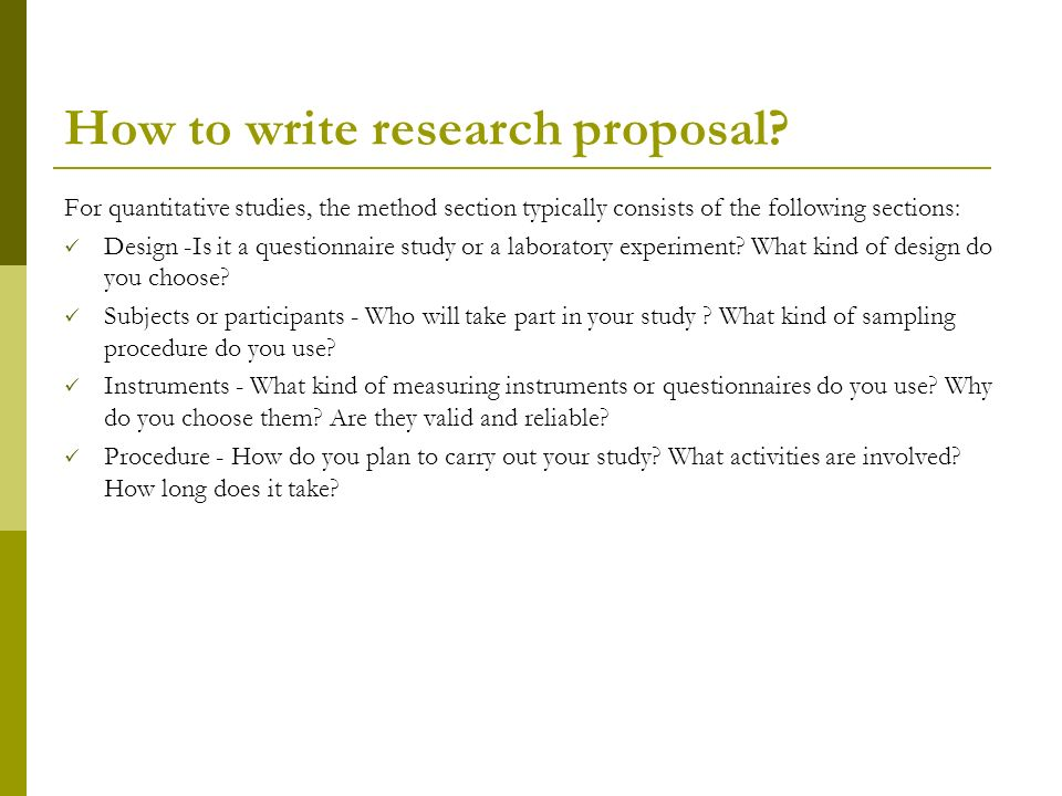 how to write an effective research proposal How to write a research proposal, including its major stages of conceptualization and development.