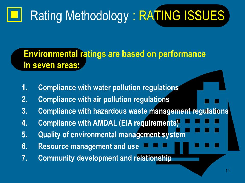 Rating Methodology : RATING ISSUES