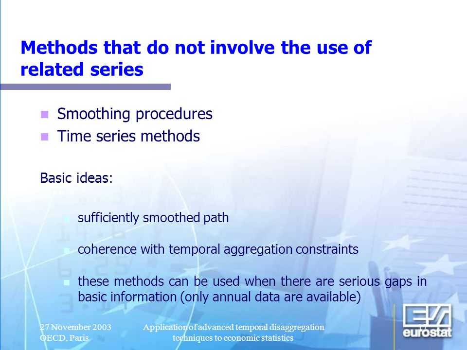 Methods that do not involve the use of related series