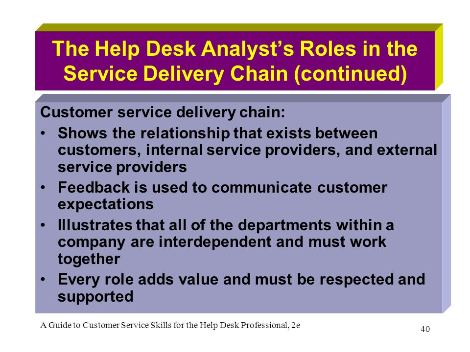 relationship between customer service and logistics When it comes to customer service, shippers want their carriers and 3pls to provide the complete package in today's complex supply chain environment, customer service between shippers and their logistics providers means more than just a friendly voice on the line when something goes wrong it is .
