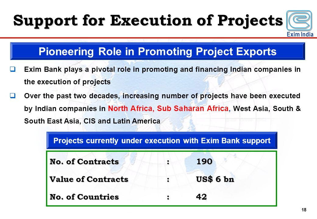 Support for Execution of Projects