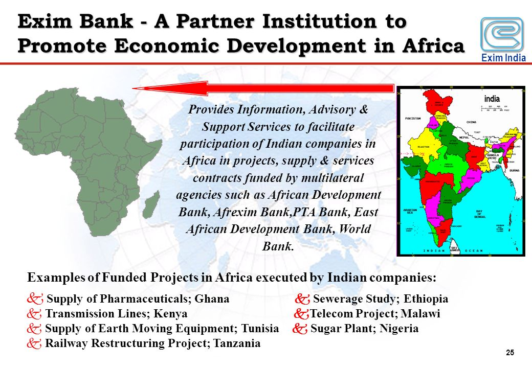 Exim Bank - A Partner Institution to Promote Economic Development in Africa