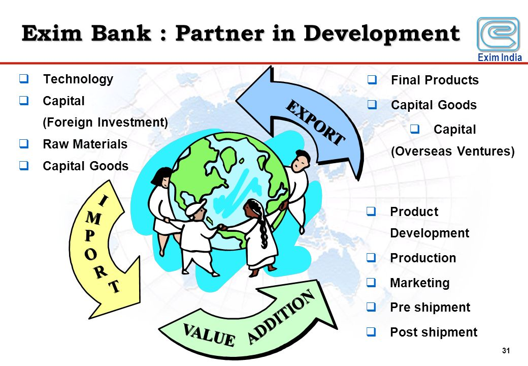Exim Bank : Partner in Development