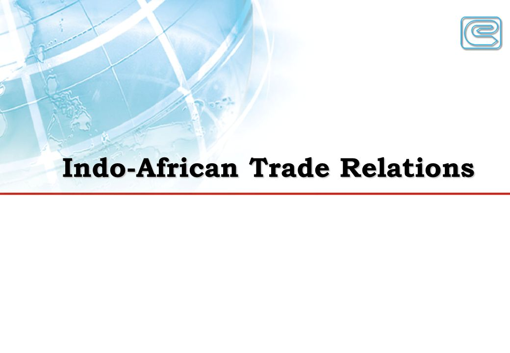 Indo-African Trade Relations