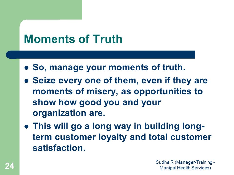 moments of truth in customer service I work in service innovation, marketing operations and loyalty management with value management specialist optima partners, aviation private equity specialist nyras.
