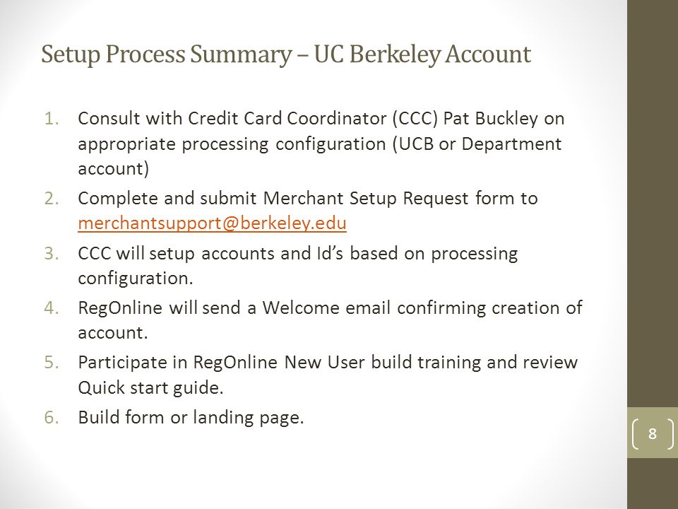 Pat Buckley – Credit Card Coordinator Billing and Payment Services ...